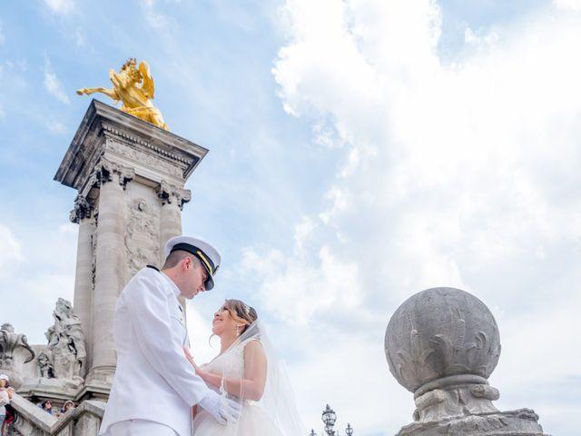 Brian and Debora's Wedding in Paris, France 9