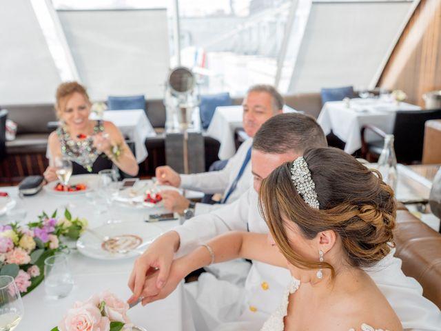 Brian and Debora's Wedding in Paris, France 11