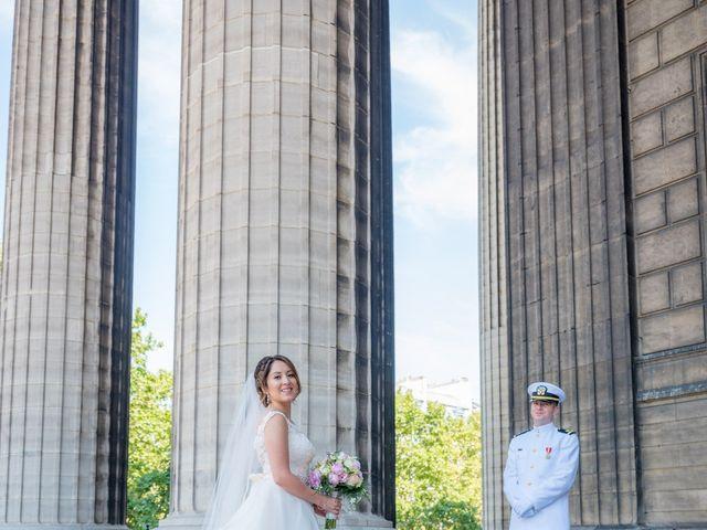 Brian and Debora's Wedding in Paris, France 14