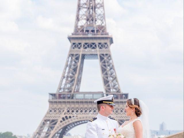 Brian and Debora's Wedding in Paris, France 31