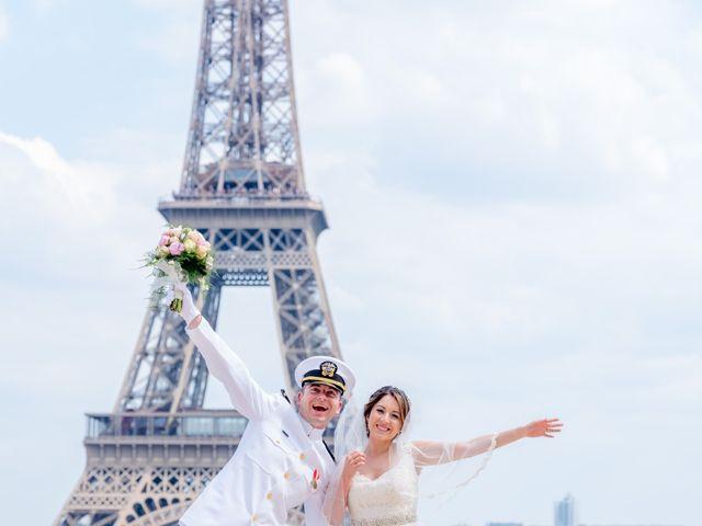 Brian and Debora's Wedding in Paris, France 32