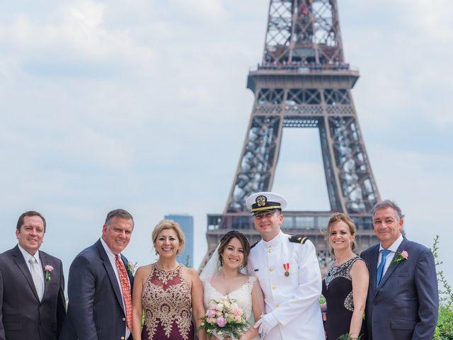 Brian and Debora's Wedding in Paris, France 33