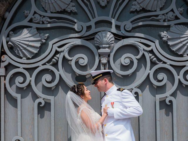 Brian and Debora's Wedding in Paris, France 34