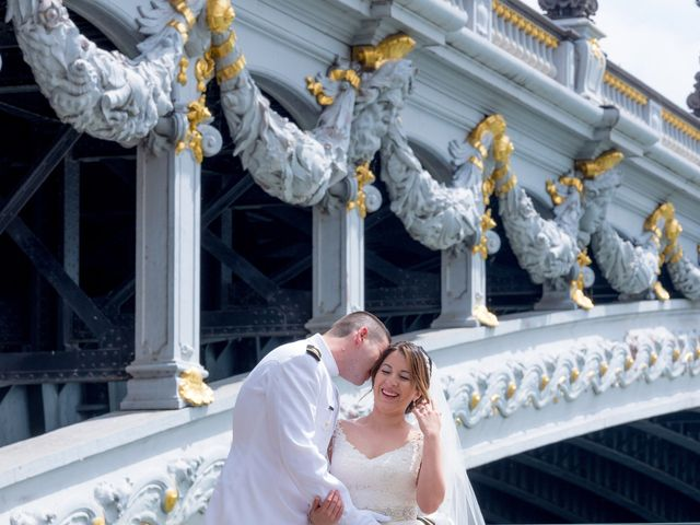 Brian and Debora's Wedding in Paris, France 35