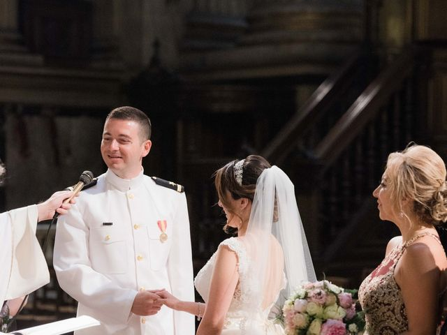Brian and Debora's Wedding in Paris, France 39