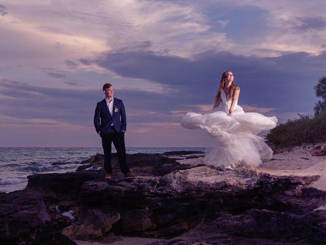 The wedding of Ashley and Benjamin