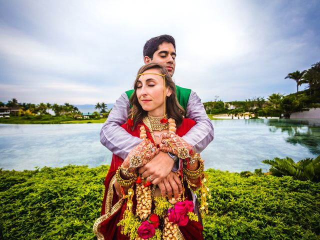The wedding of Sameer and Kelly