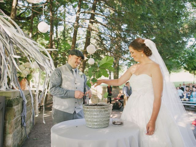 Mary and Cody's Wedding in Fombell, Pennsylvania 11