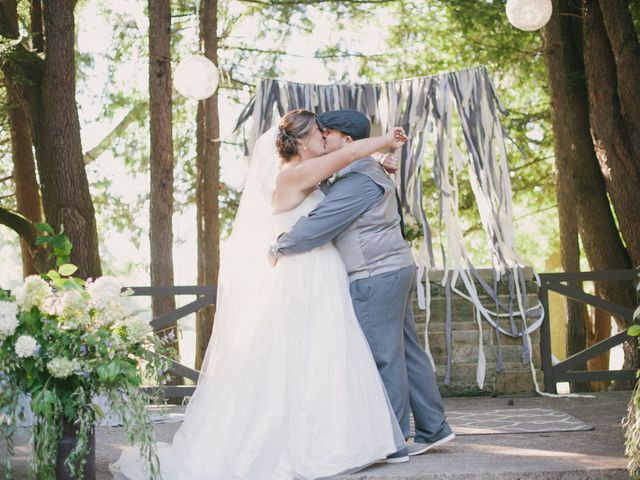 Mary and Cody's Wedding in Fombell, Pennsylvania 12