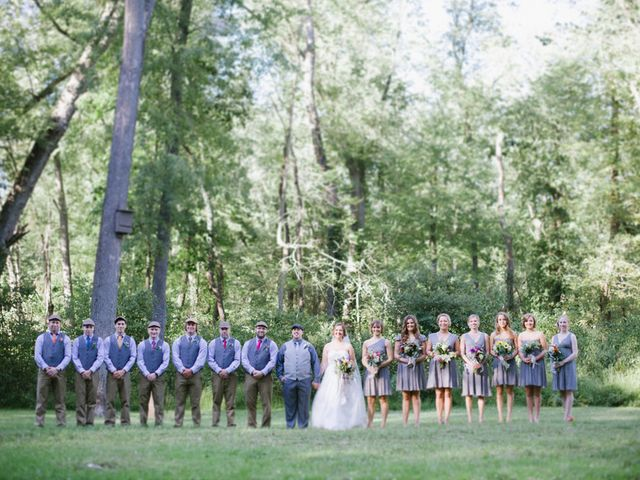 Mary and Cody's Wedding in Fombell, Pennsylvania 7