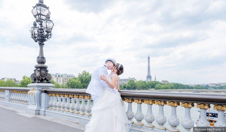 Brian and Debora's Wedding in Paris, France
