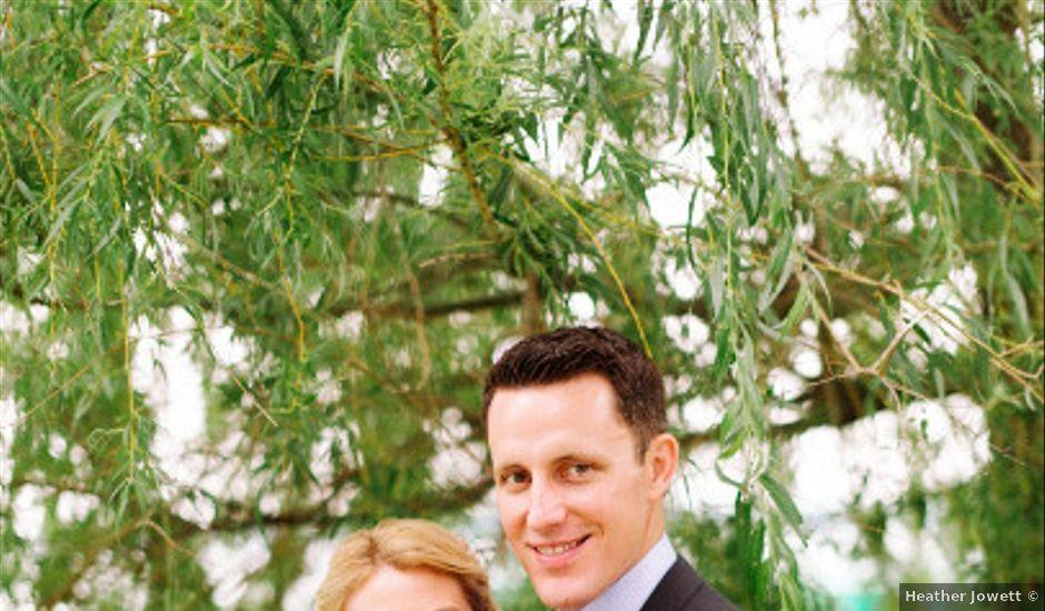 Kristin and Matt's wedding in Michigan