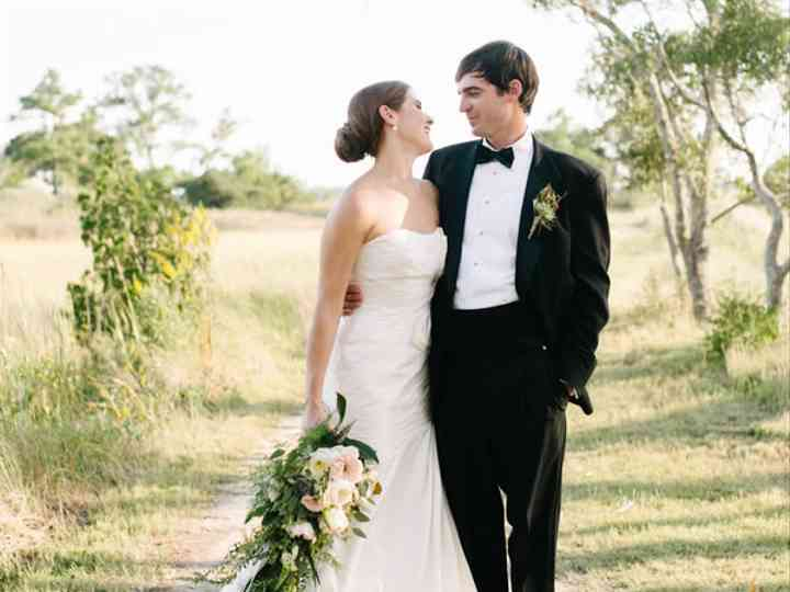 The wedding of Charles and Lauren