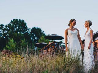 The wedding of Britta and Annie