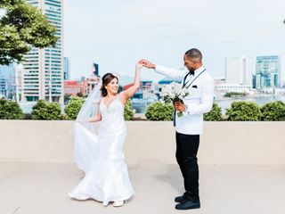 The wedding of Marcus and Janay