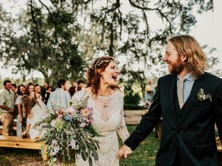 The wedding of Danielle and Blake