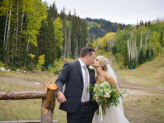 Alie and Sean's Wedding in Park City, Utah 6