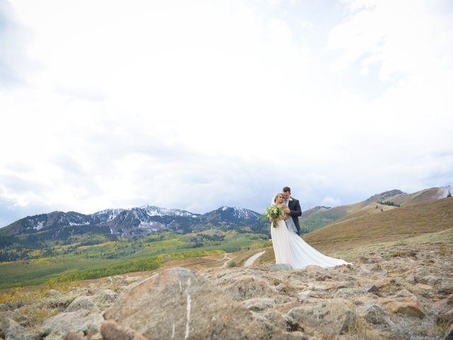 Alie and Sean's Wedding in Park City, Utah 9