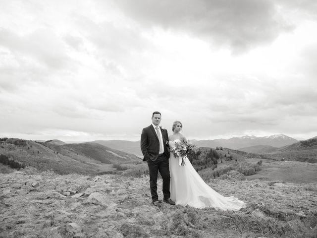 Alie and Sean's Wedding in Park City, Utah 10