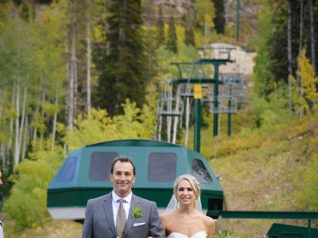 Alie and Sean's Wedding in Park City, Utah 16