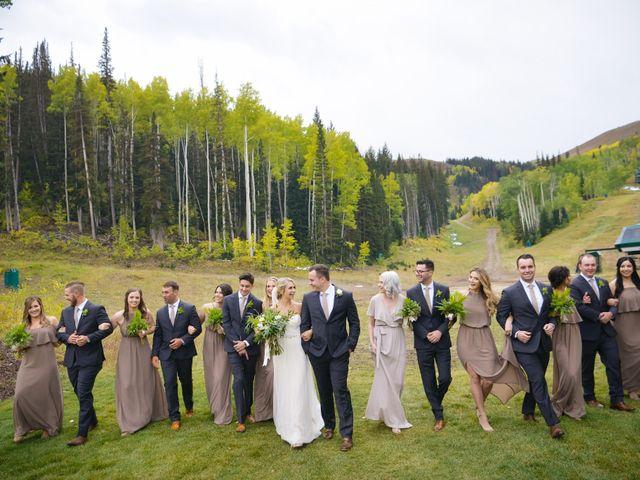 Alie and Sean's Wedding in Park City, Utah 25