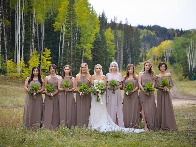 Alie and Sean's Wedding in Park City, Utah 26