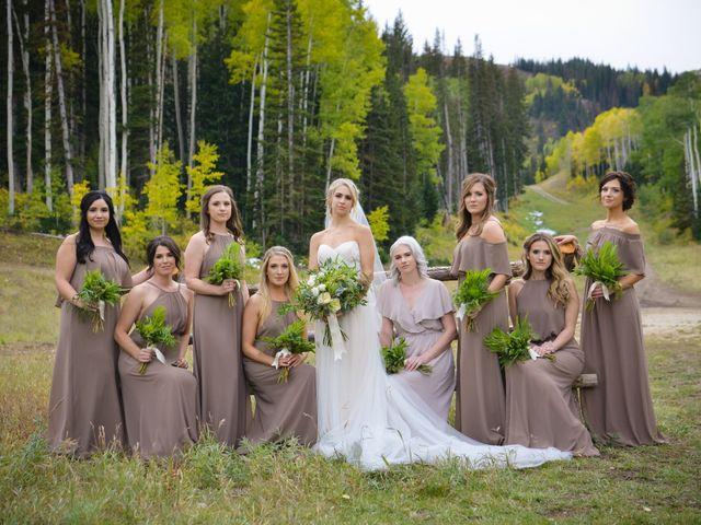 Alie and Sean's Wedding in Park City, Utah 27