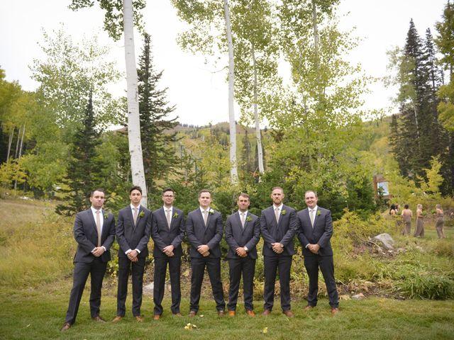 Alie and Sean's Wedding in Park City, Utah 29