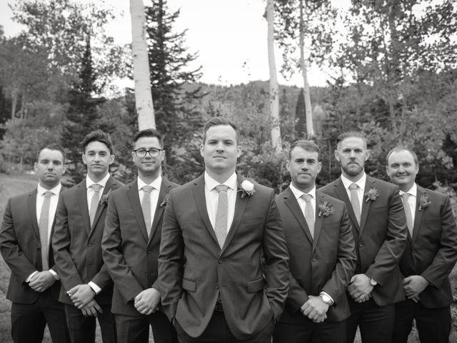 Alie and Sean's Wedding in Park City, Utah 30