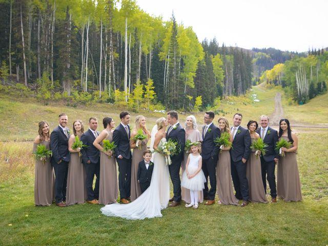 Alie and Sean's Wedding in Park City, Utah 31