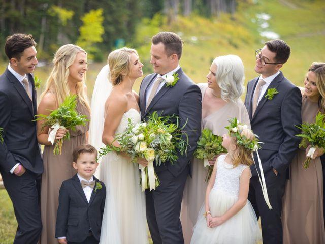 Alie and Sean's Wedding in Park City, Utah 32