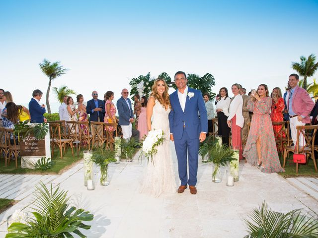 Ron and Jessica's Wedding in Long Bay Beach, Turks and Caicos 17