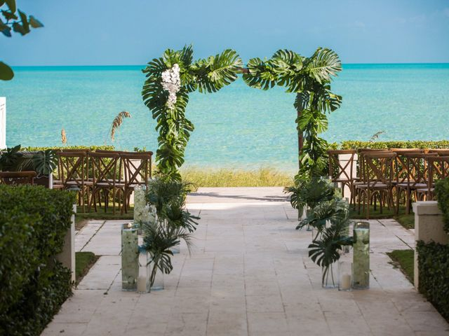 Ron and Jessica's Wedding in Long Bay Beach, Turks and Caicos 14