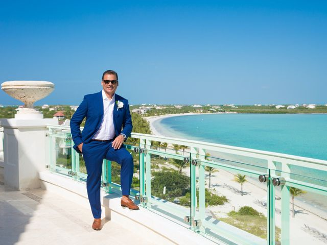 Ron and Jessica's Wedding in Long Bay Beach, Turks and Caicos 12