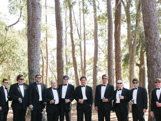 Lauren and Charles's wedding in South Carolina 2