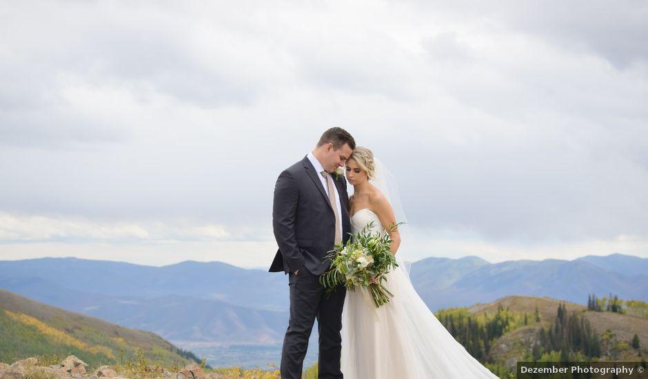 Alie and Sean's Wedding in Park City, Utah