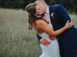 The wedding of Megan and Ridge
