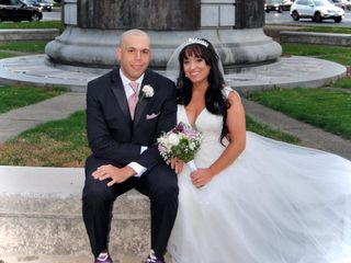 The wedding of Courtney and Patrick