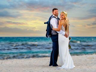 The wedding of Chloe and Brandon