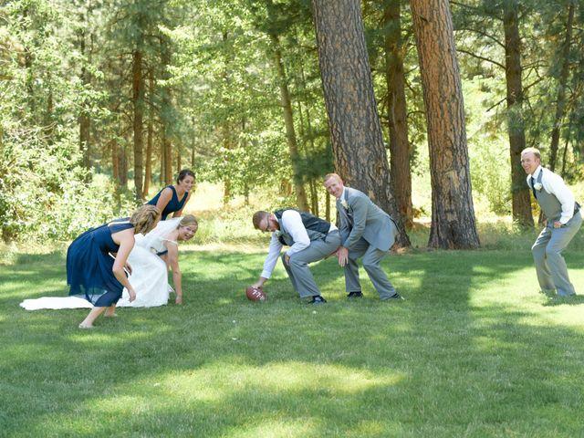 Brycen and Sherilyn's Wedding in Dayton, Washington 10