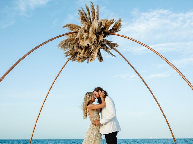 Joshua and Lindsay's Wedding in Playa Mujeres, Mexico 2