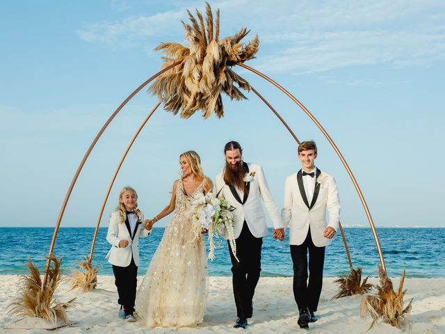 Joshua and Lindsay's Wedding in Playa Mujeres, Mexico 1