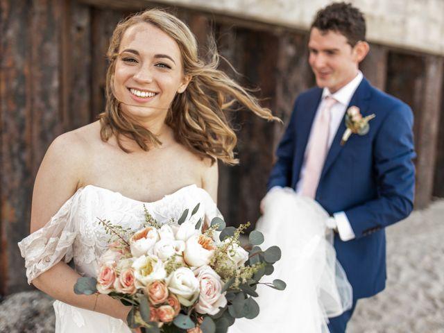 The wedding of Julia and Lawton