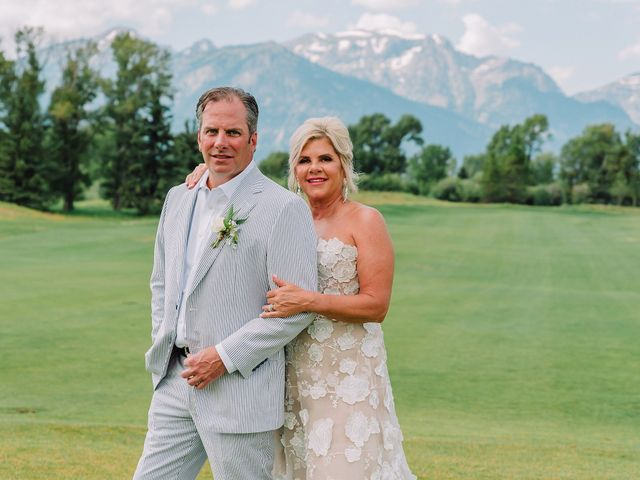 The wedding of Trish and Jim