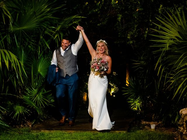 Brandon and Chloe's Wedding in Playa del Carmen, Mexico 7