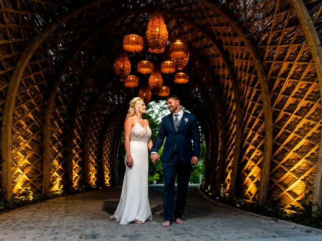 Brandon and Chloe's Wedding in Playa del Carmen, Mexico 10