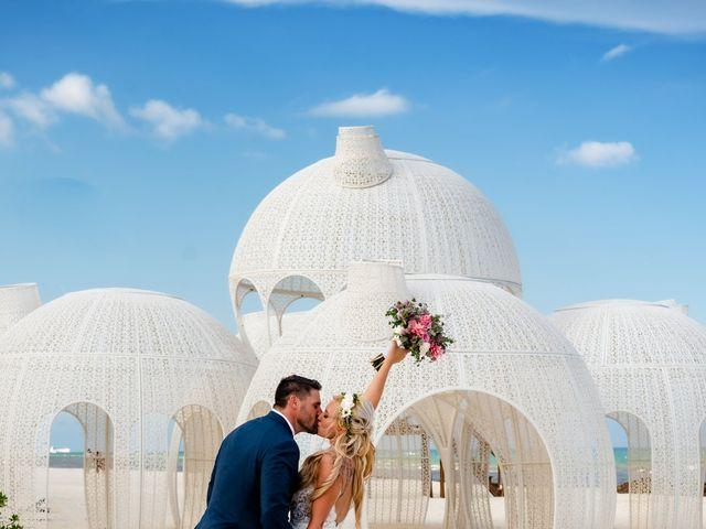 Brandon and Chloe's Wedding in Playa del Carmen, Mexico 12