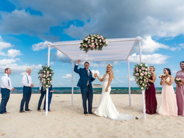 Brandon and Chloe's Wedding in Playa del Carmen, Mexico 13