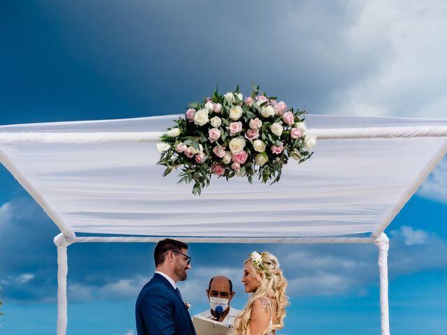 Brandon and Chloe's Wedding in Playa del Carmen, Mexico 14
