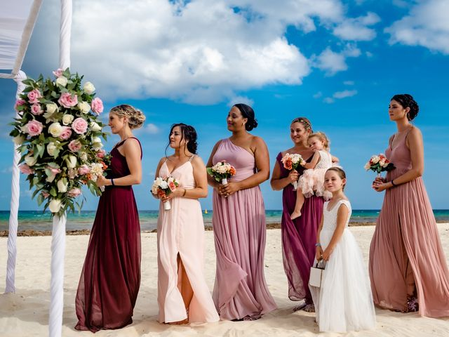 Brandon and Chloe's Wedding in Playa del Carmen, Mexico 15